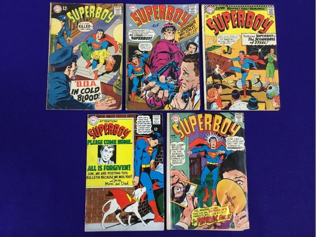 Superboy no. 134, 145, 146, 150, 151