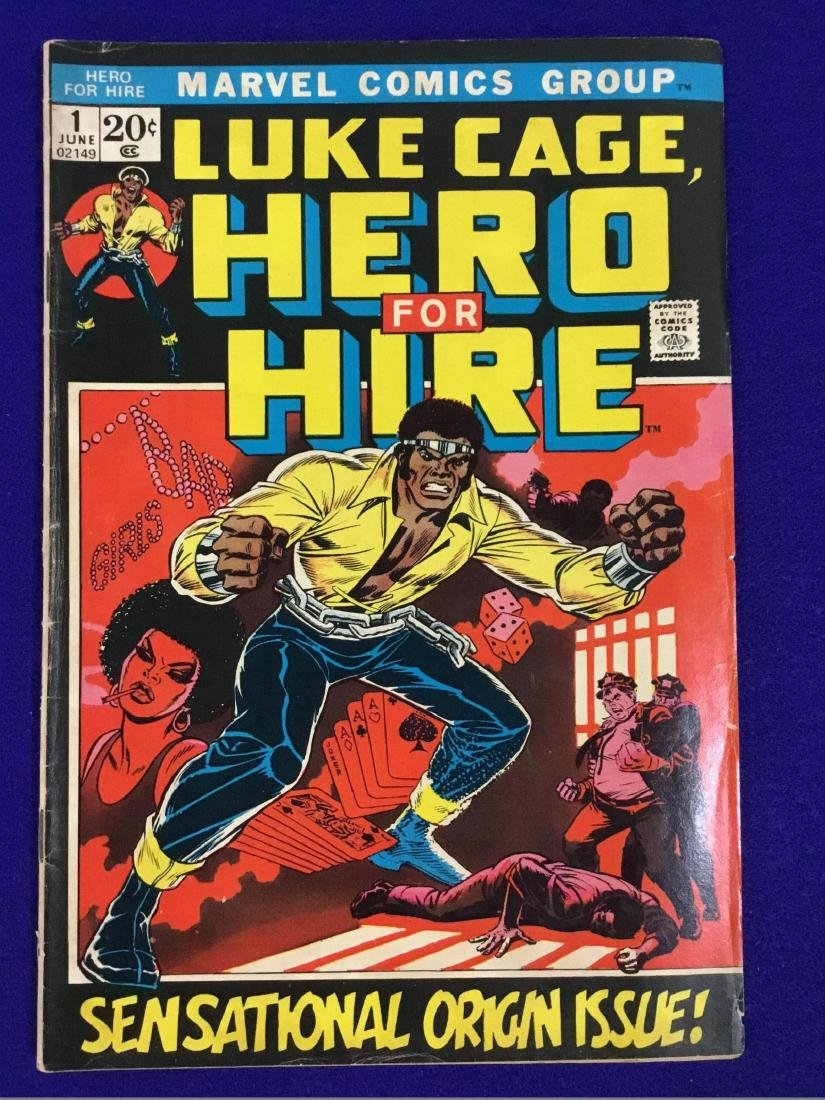 Hero for Hire no. 1