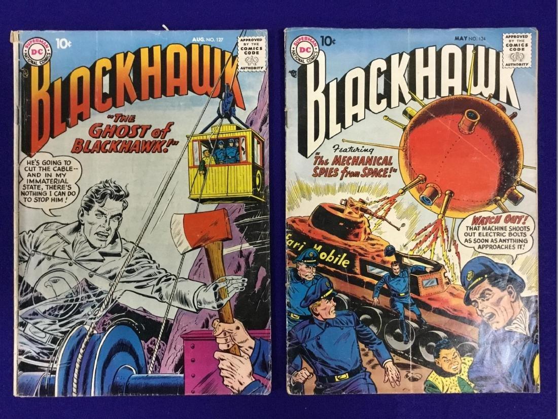 Blackhawk no. 124, 127