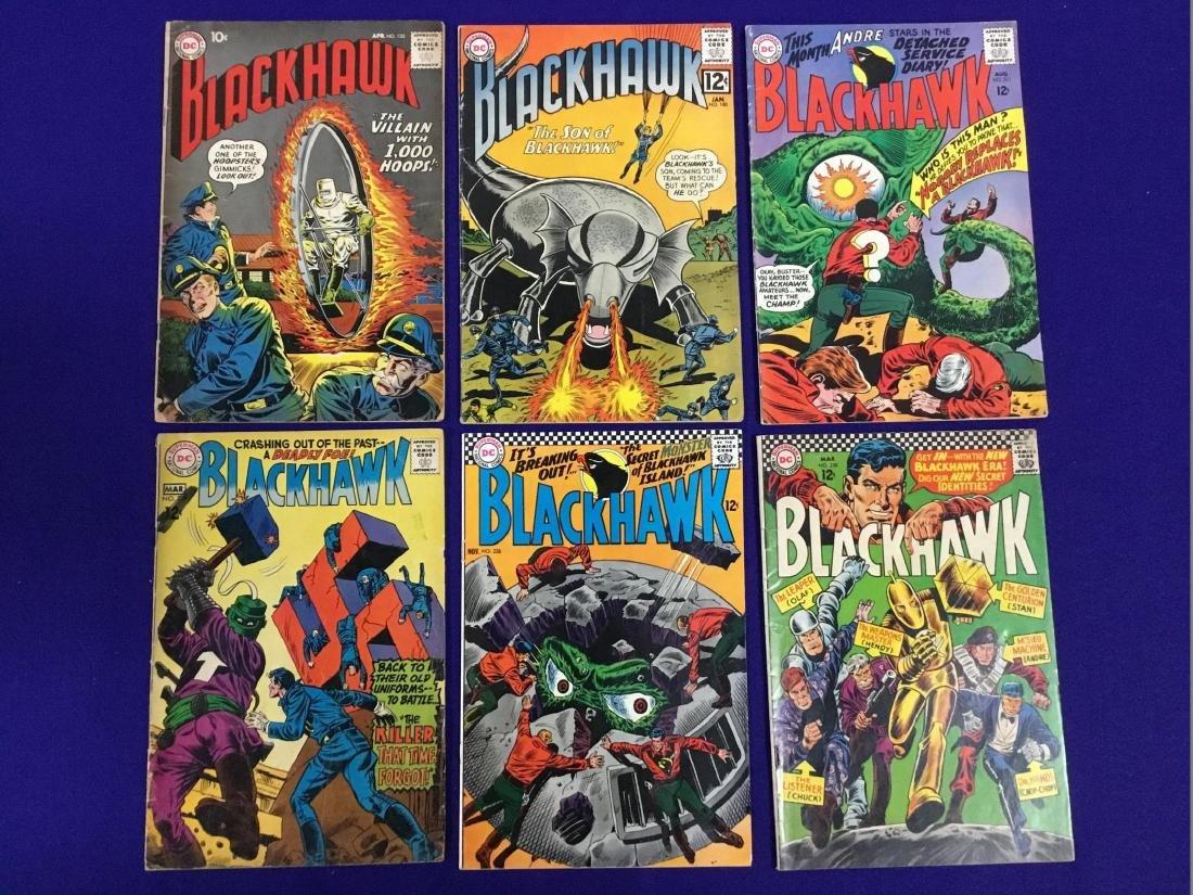 Blackhawk no. 180, 211, 226, 230, 239, 135