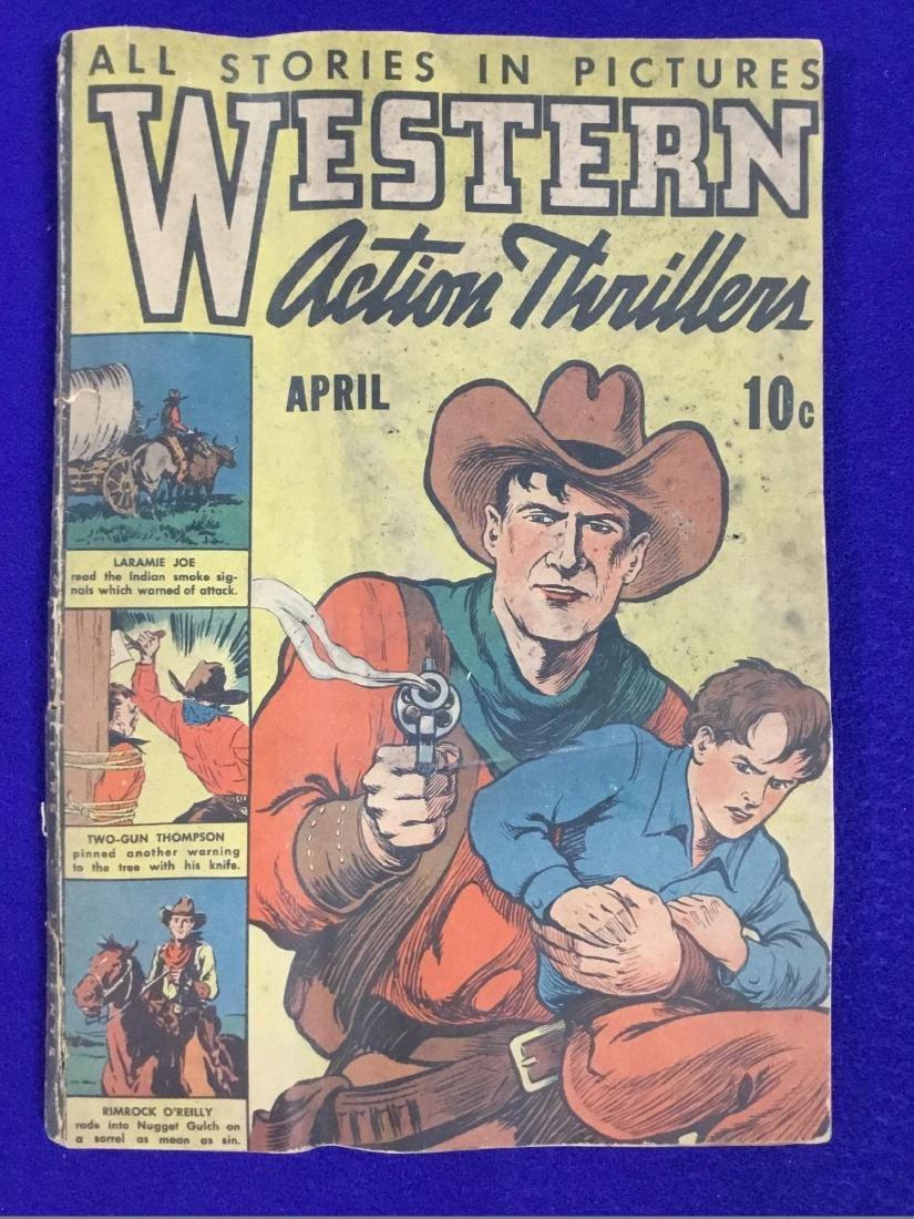 Western Action Thriller, April