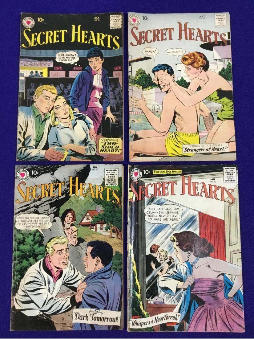 Secret Hearts no. 52,53,55,56