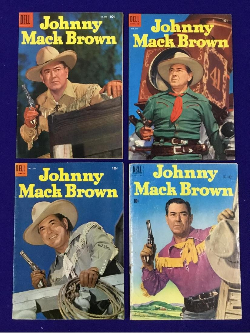Johnny Mack Brown No. Oct. through Nov., 618, 685, 584