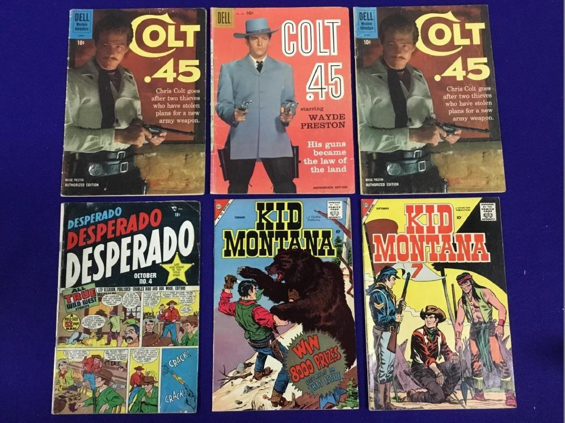 Kid Montana No. Feb., Sept., Colt 45 no. 924, April,