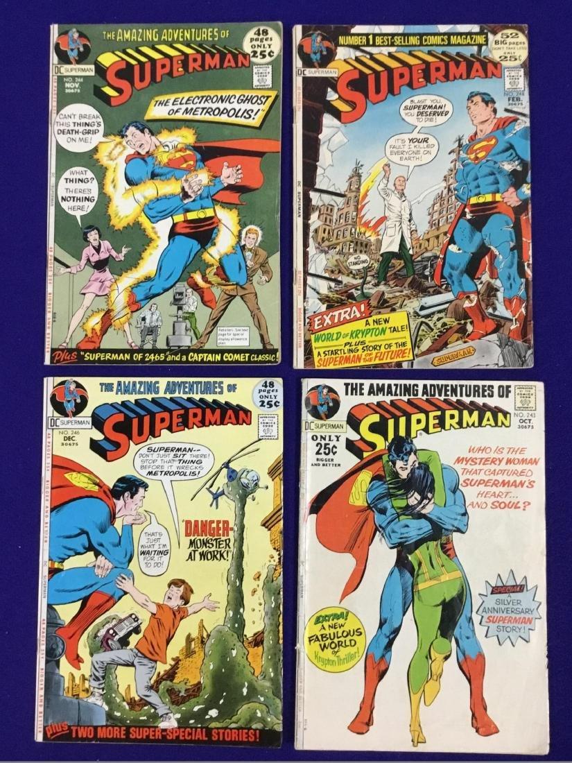 Superman No. 243,244,246,248
