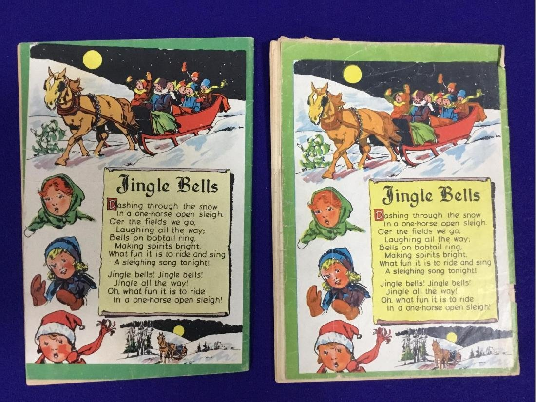 Dell Santa Claus Funnies 2 issues no. 61 - 2