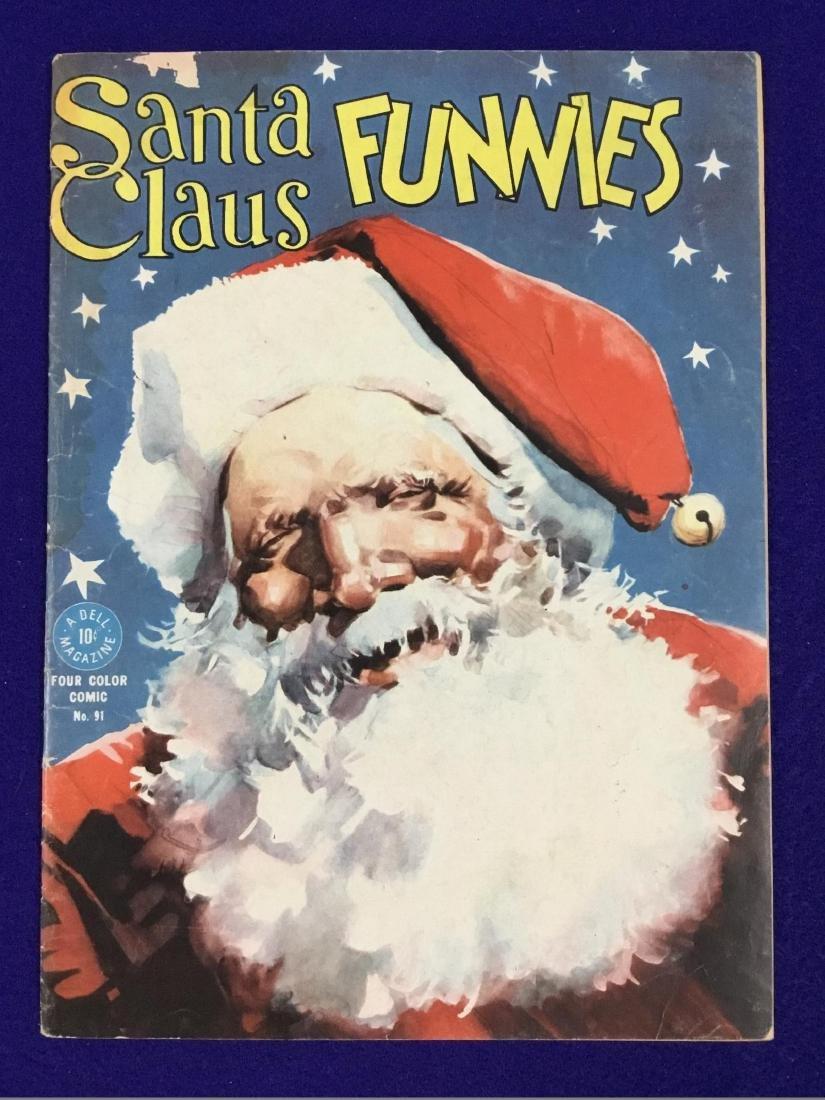 Dell Santa Claus Funnies no. 91