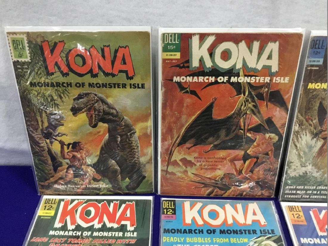 29 Issues of Dell Kona Monarch of Monster Isle - 2