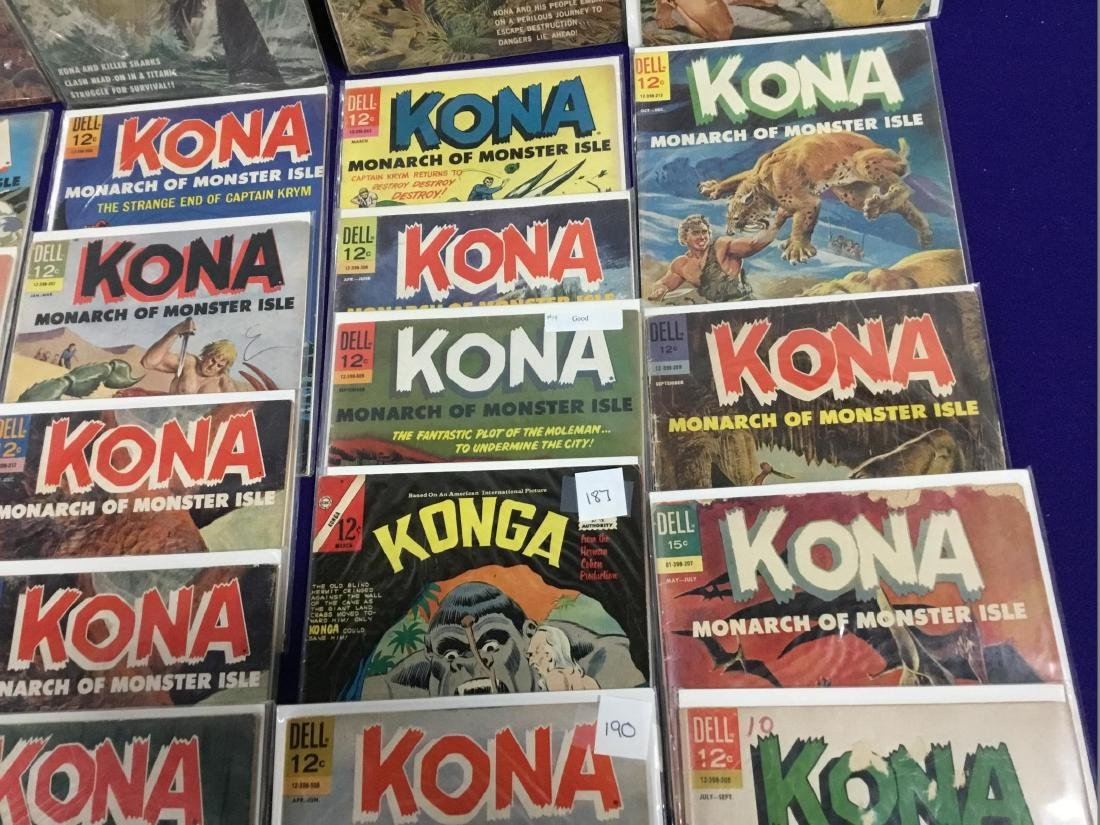 29 Issues of Dell Kona Monarch of Monster Isle - 3