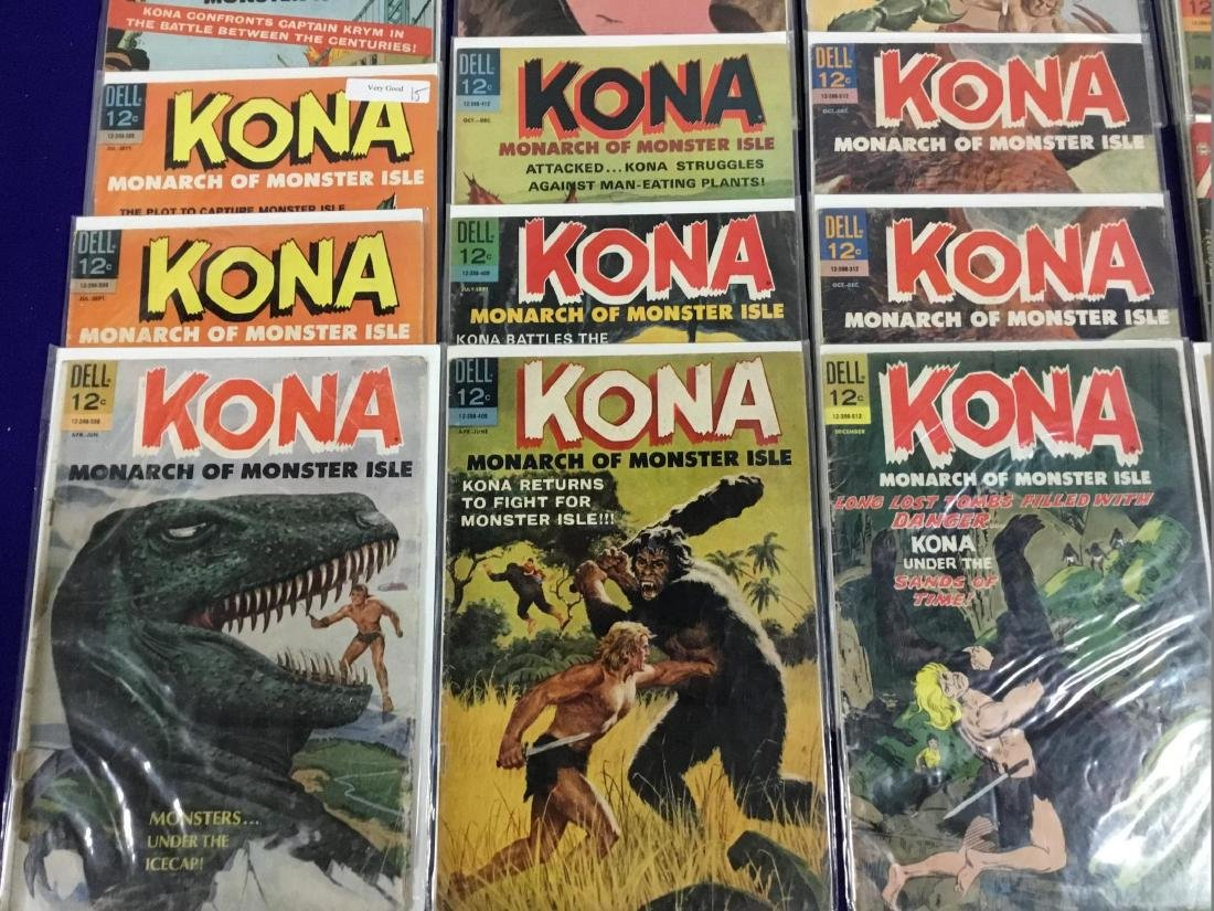 29 Issues of Dell Kona Monarch of Monster Isle - 4