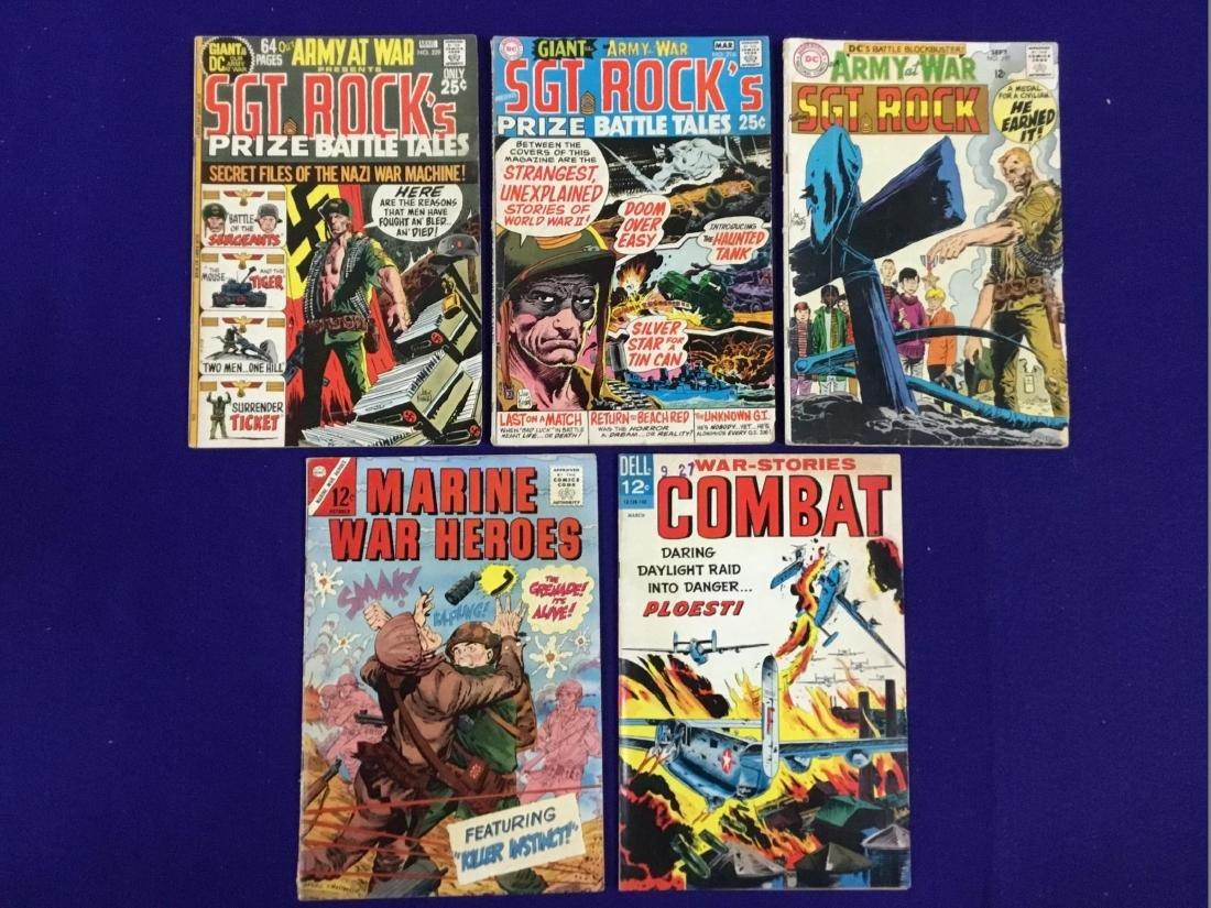 Sgt. Rock's no. 216,229,197, Marine War Heroes no. 10,
