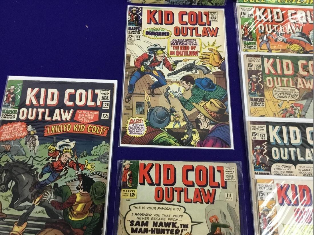 Kid Colt no. 111,128,138,140,152, Western Gunfighters - 2