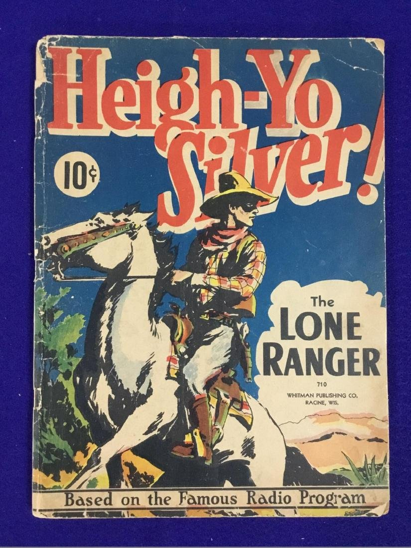 Heigh Yo Silver The Lone Ranger