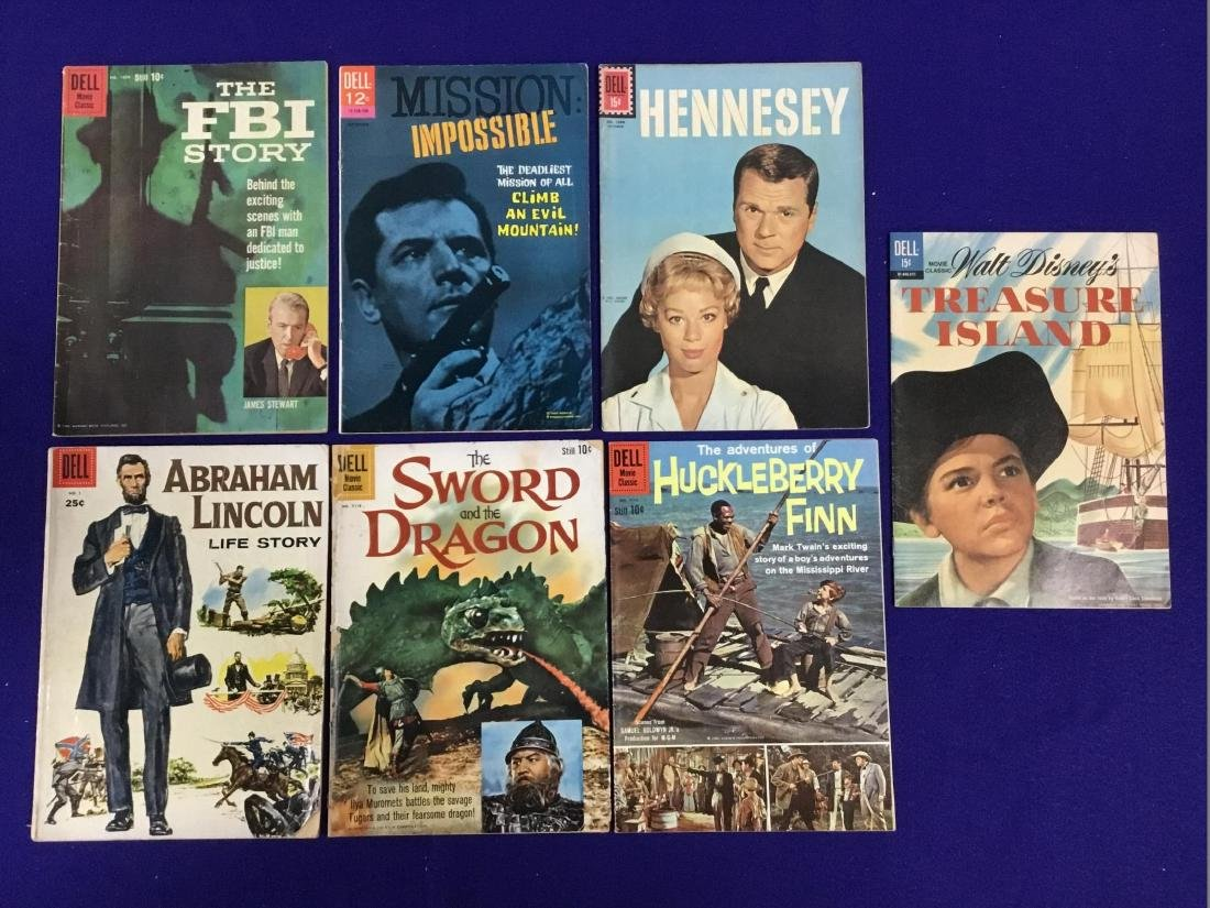 Lot of Walt Disney Comics