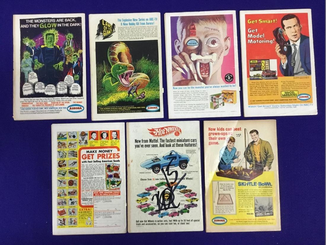 The Atom and Hawkman no. 39,45, Anthro no. 2,4, Strange - 2
