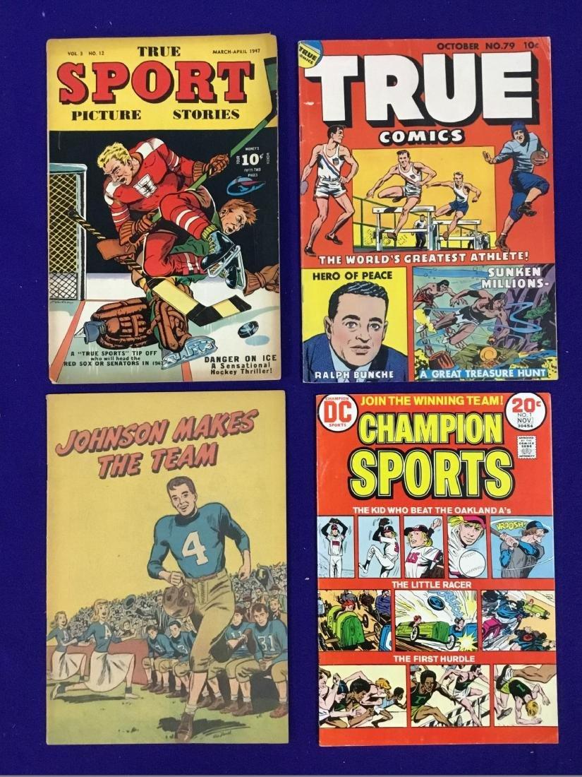 True Sport no. 12, True Comics no. 79, Champion Sports