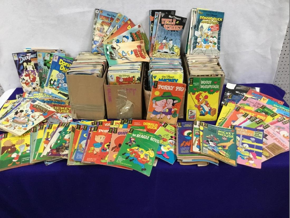 Massive Collection of Over 600 Comics