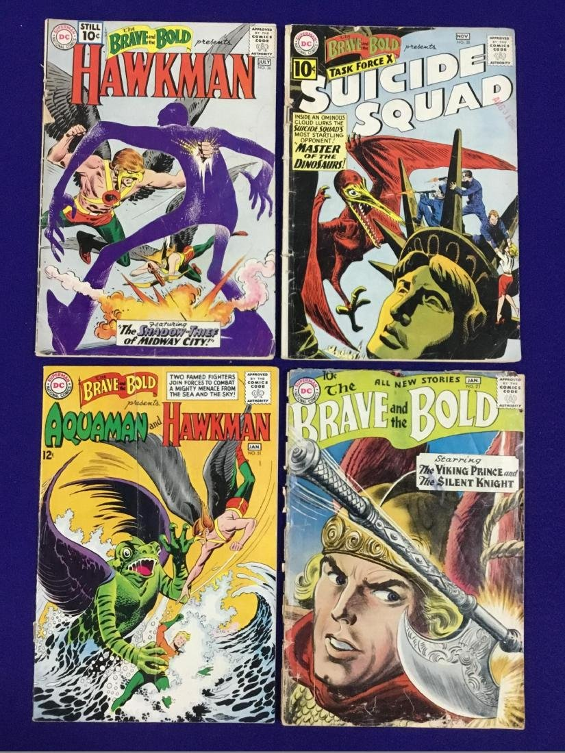 Brave and Bold Lot of 4 Comics
