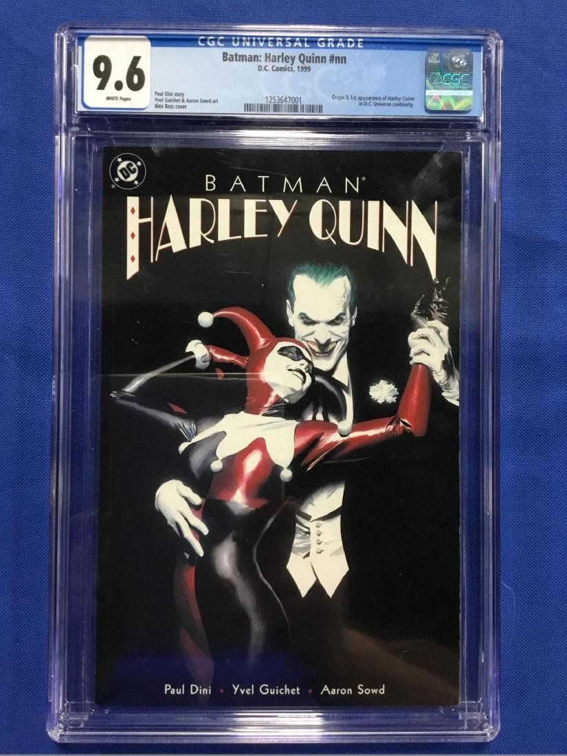 Batman Harley Quinn #nn CGC 9.6