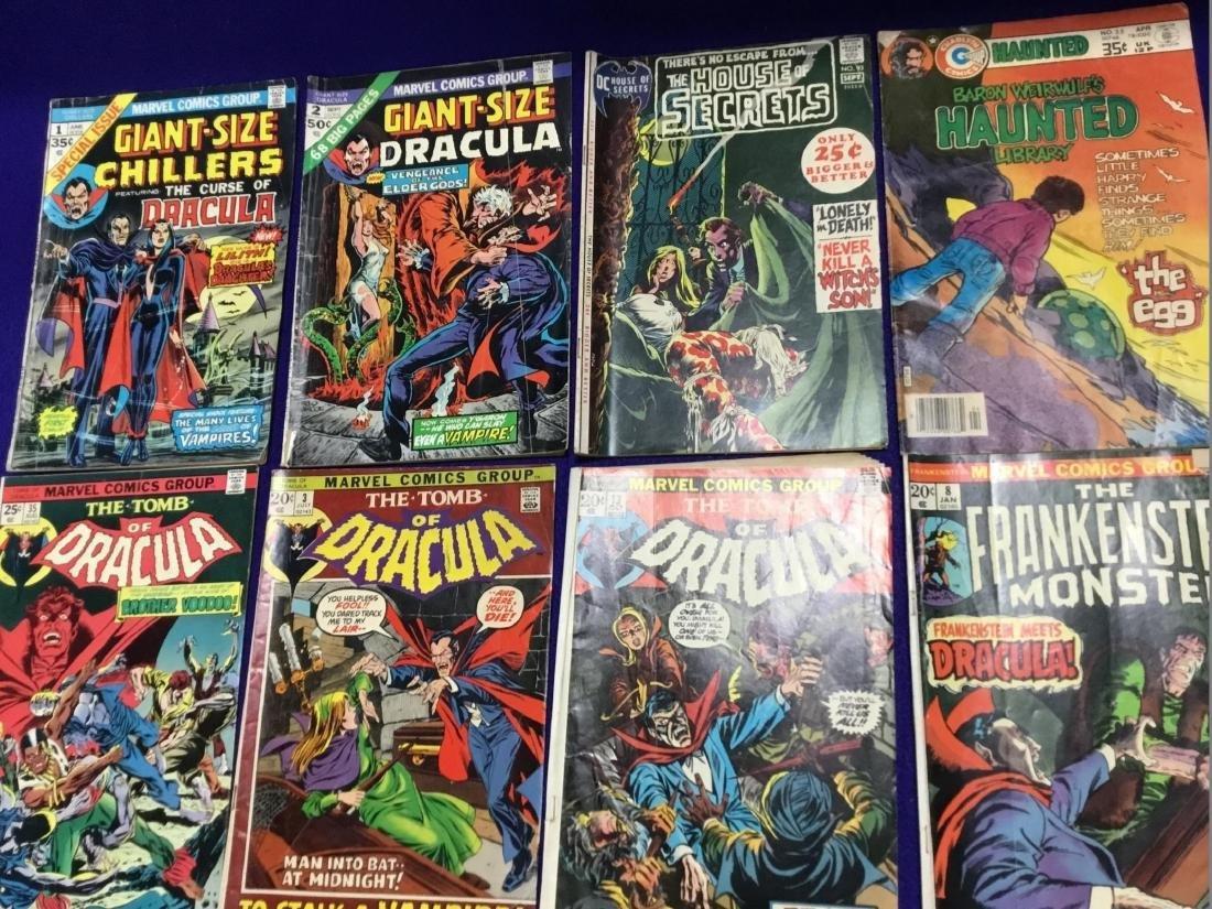 Lot of 8 Various Horror Comics - 2