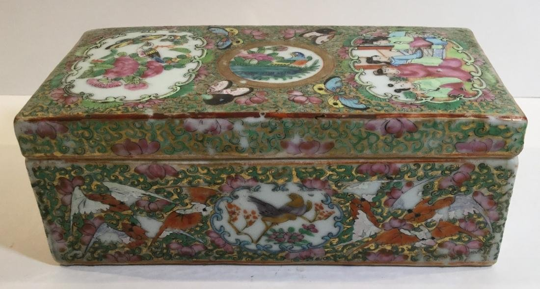 19th century Chinese Famille Rose Porcelain Covered