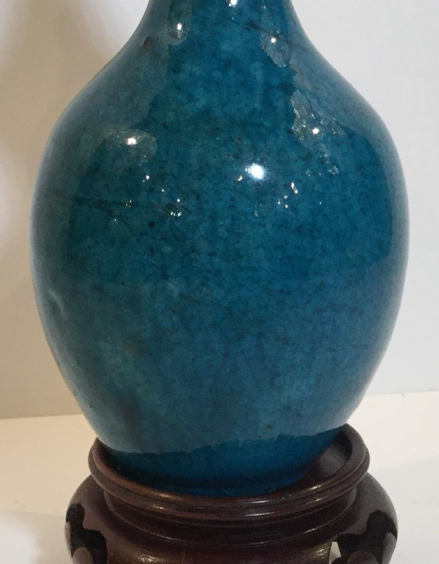 18th century Chinese Flambe Double Gourd Vase - 3