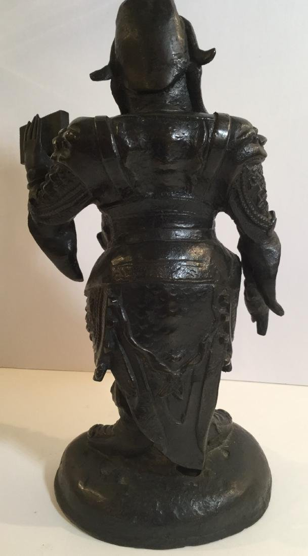 19th century Chinese Bronze Standing Figure - 2