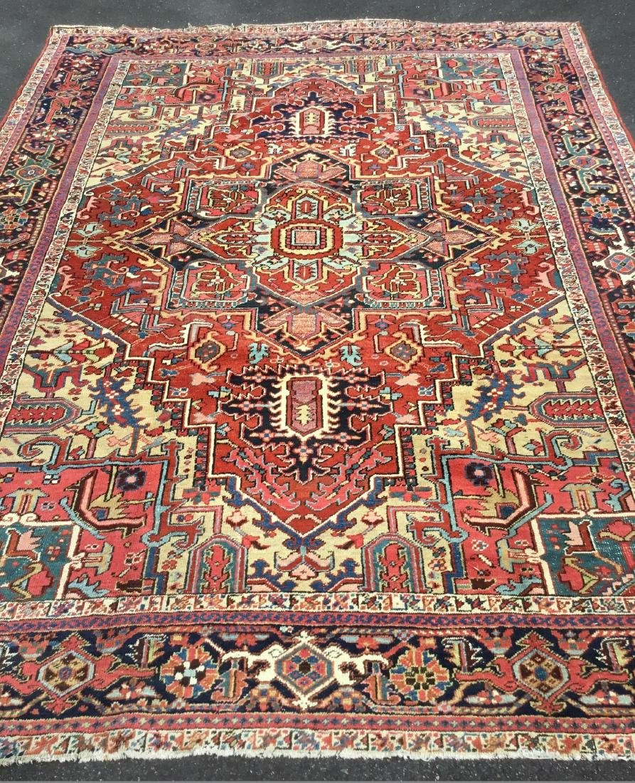 Antique Persian Heriz Serapi Carpet, last quarter 19th