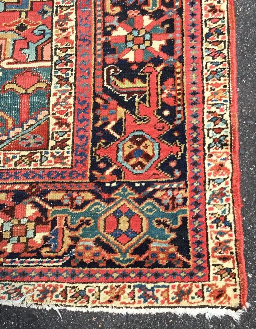 Antique Persian Heriz Serapi Carpet, last quarter 19th - 3