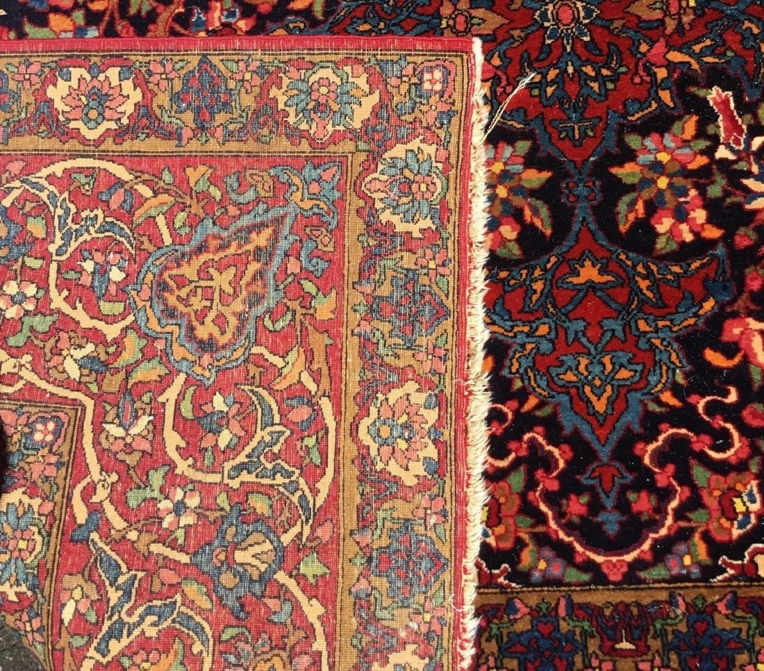 Antique Persian Kashan, last quarter 19th century - 4