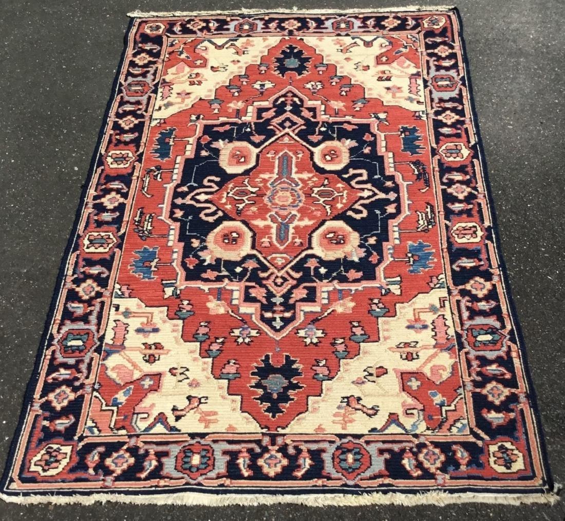 Persian Serapi area rug