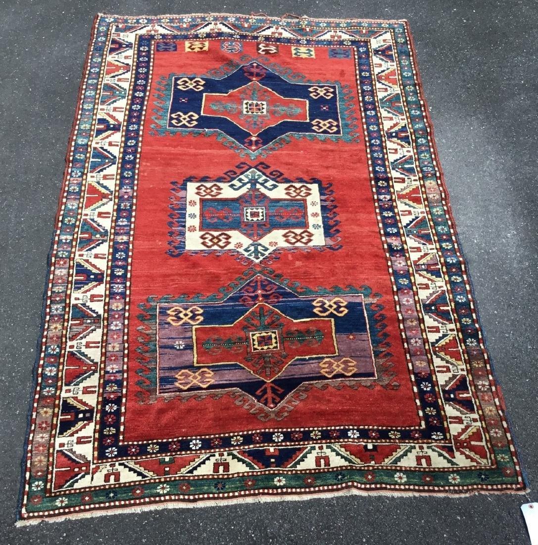 Antique Caucasian Fachralo Kazak, last quarter 19th
