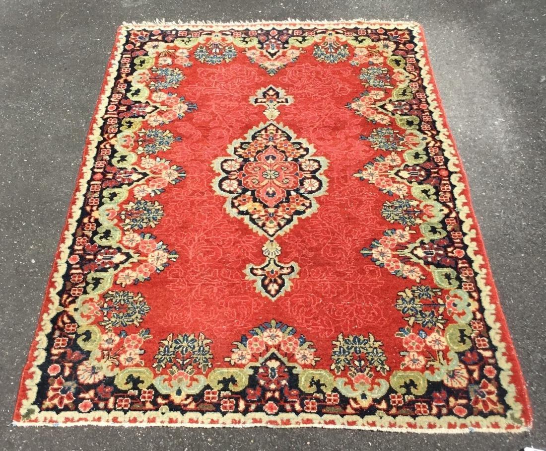 Antique Persian Kerman area rug, 1st quarter 20th