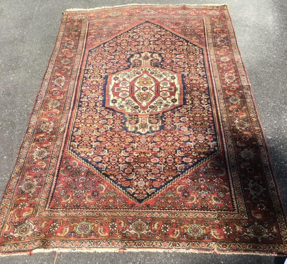Antique Persian Bidjar area rug, circa 1900