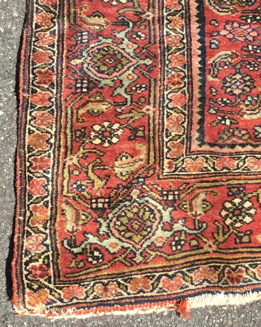 Antique Persian Bidjar area rug, circa 1900 - 3