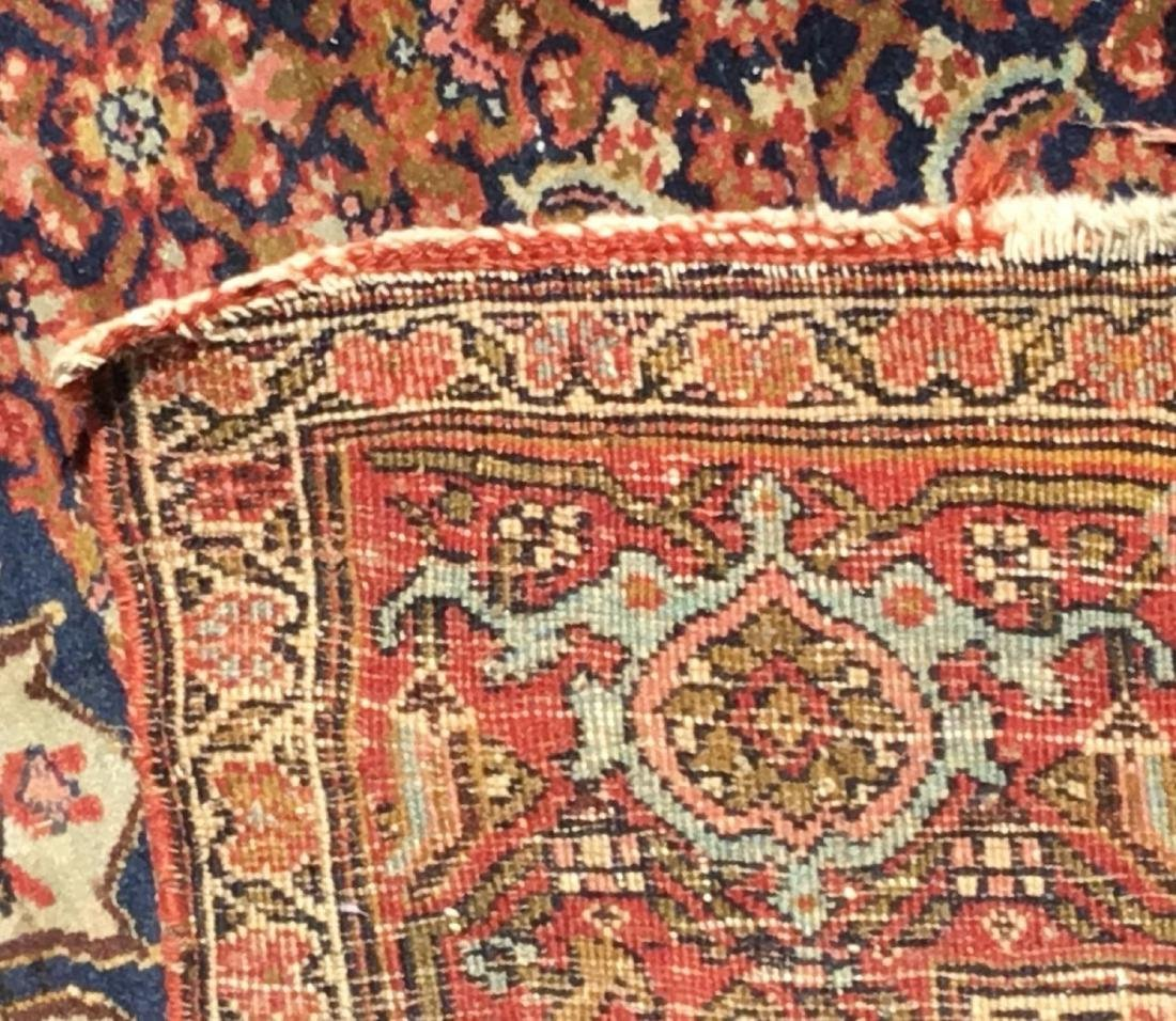 Antique Persian Bidjar area rug, circa 1900 - 4