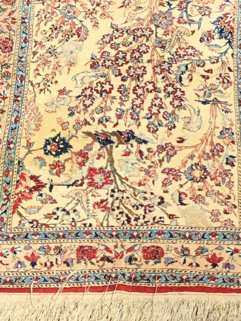 Semi-Antique Persian Isfahan area rug, circa mid-20th - 2