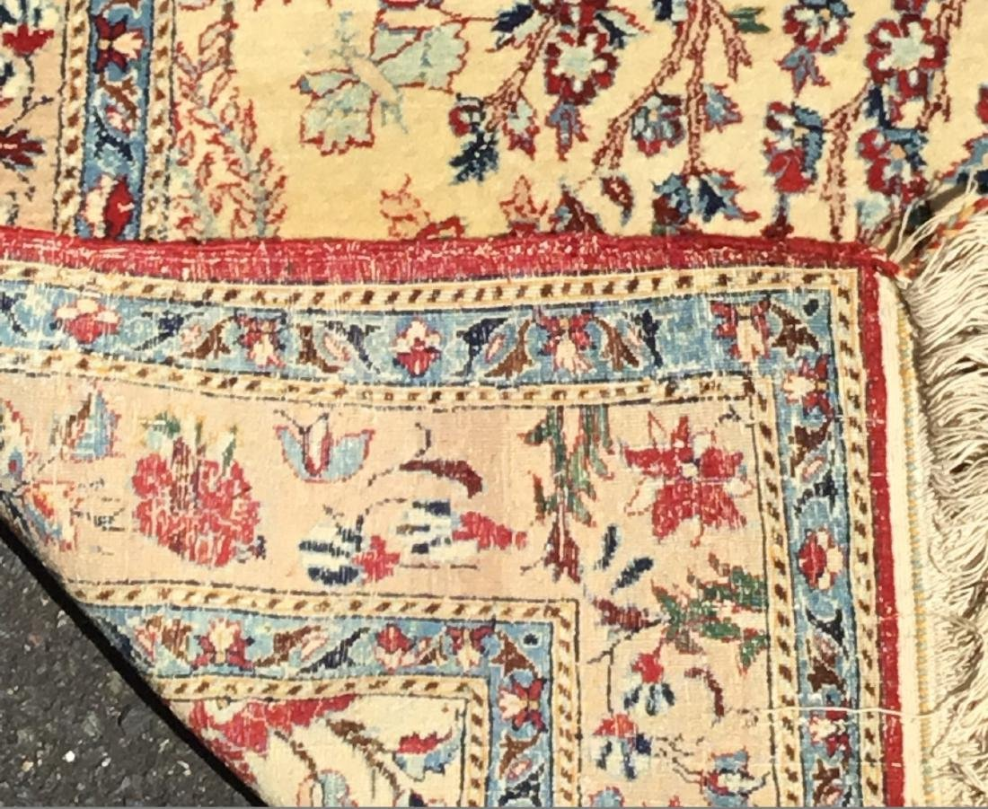 Semi-Antique Persian Isfahan area rug, circa mid-20th - 4