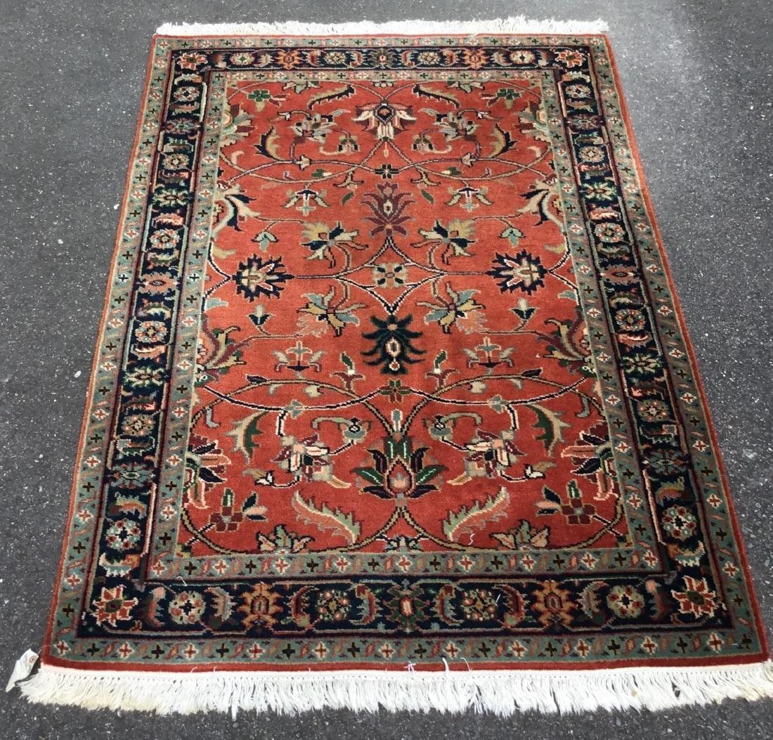 Indo Sarouk area rug, 20th century