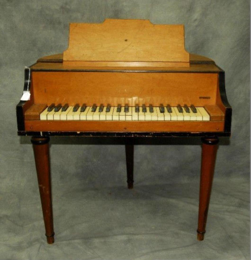 Rudolph Wurlitzer Co. Student Butterfly Piano - 2