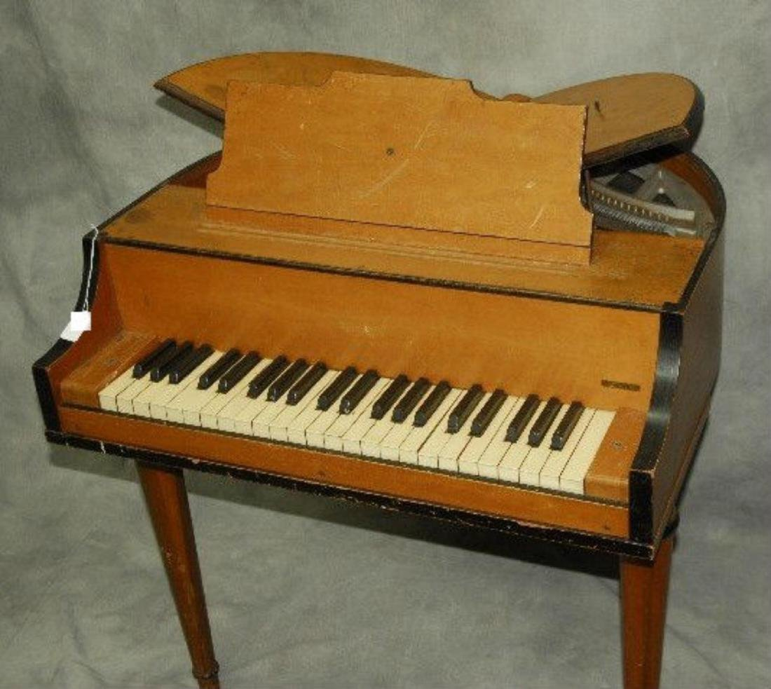 Rudolph Wurlitzer Co. Student Butterfly Piano - 3