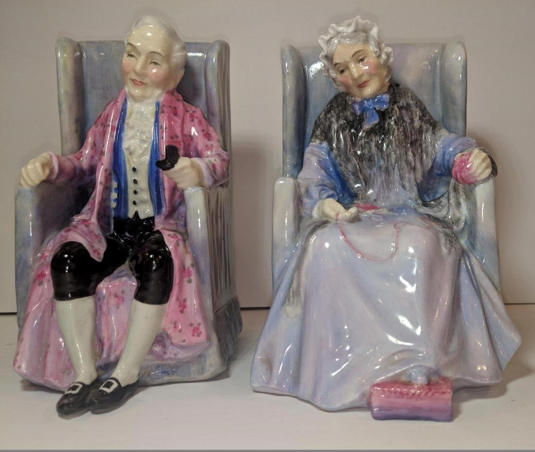 Pair of Royal Doulton Bookends 1930