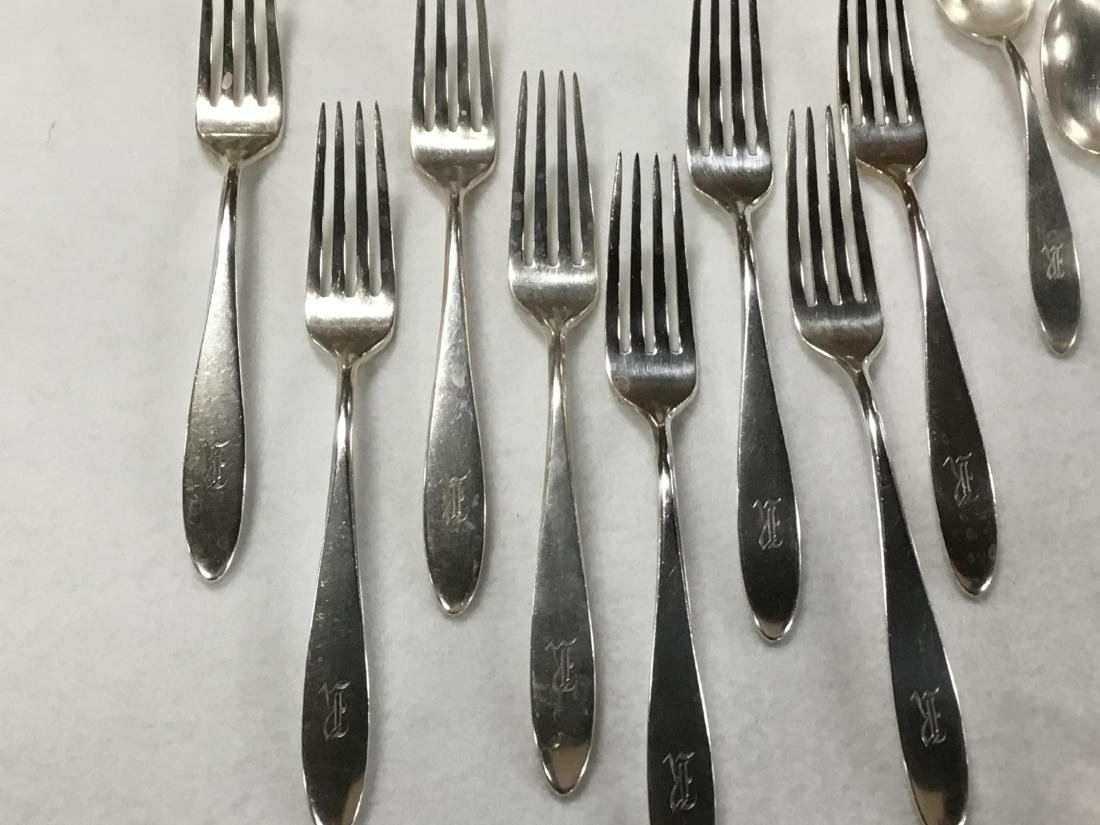 Shreve, Crump and Low Sterling Silver Flatware - 4