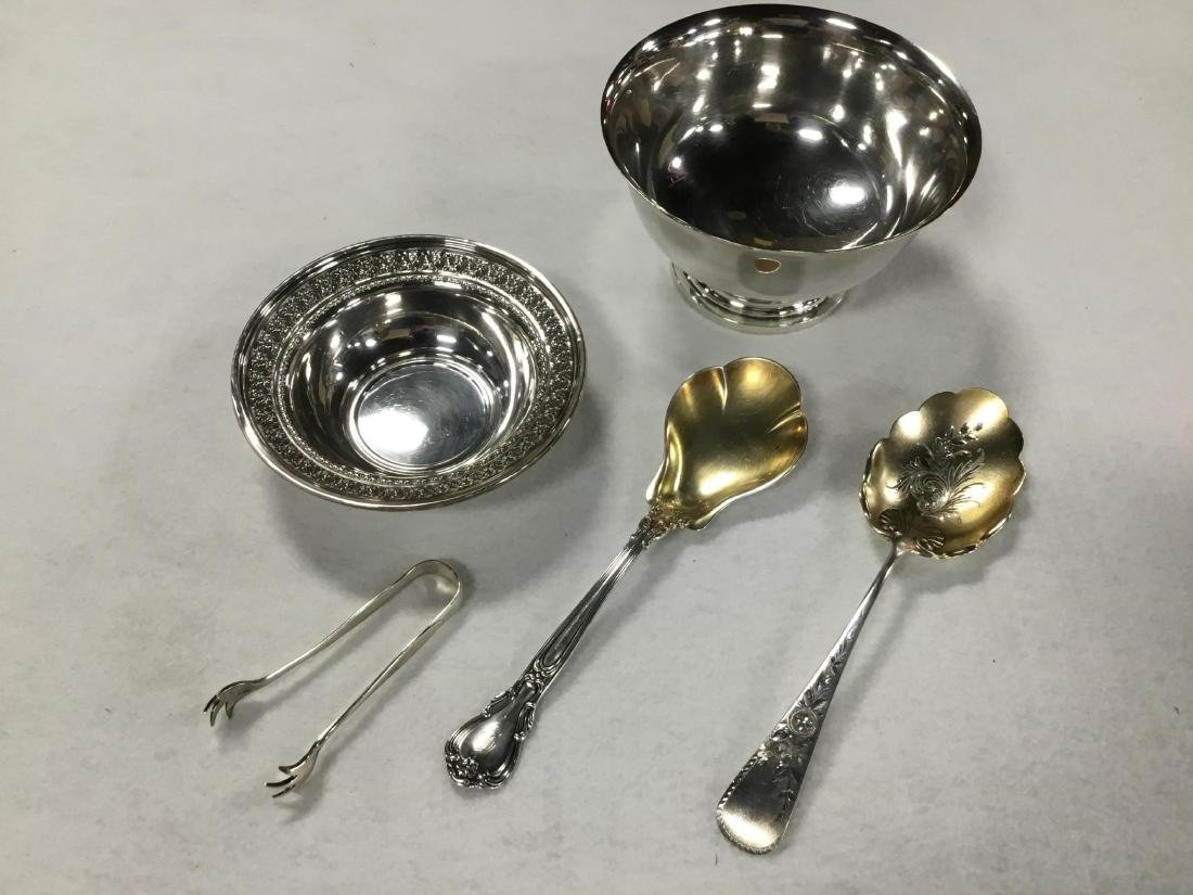Lot of 5 Pieces of Sterling Silver