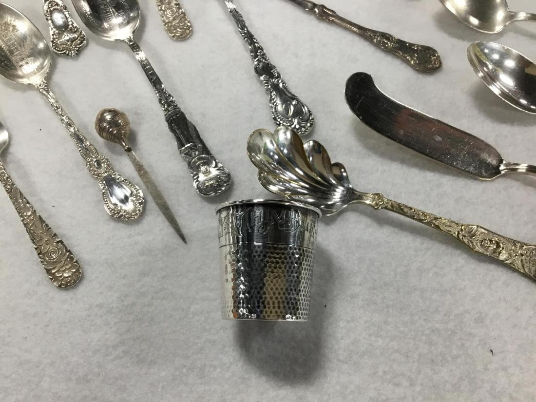 Lot of 52 Pieces of Misc Sterling Silver - 3