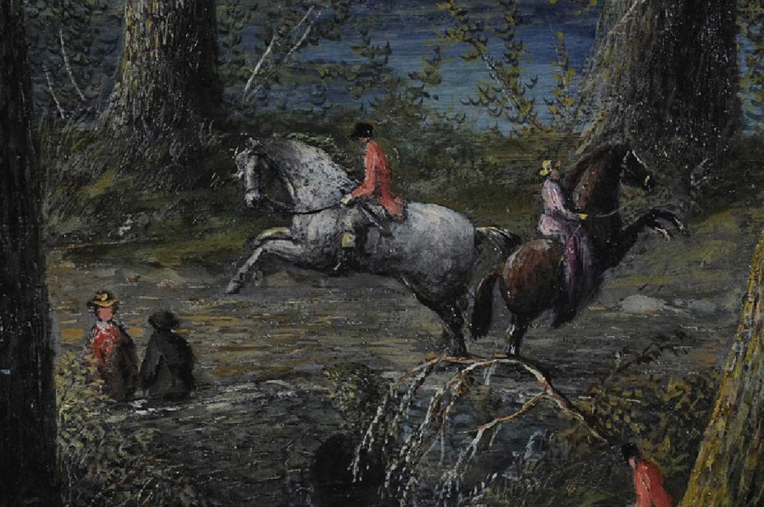H. V. S. Seymour, American (NY) 1876 Oil on Canvas - 3