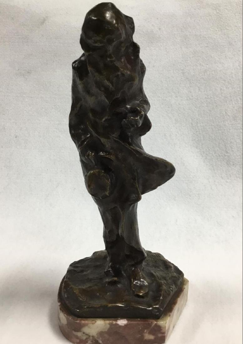 Early 20 th  Century Parisian Bronze Sculpture, Signed