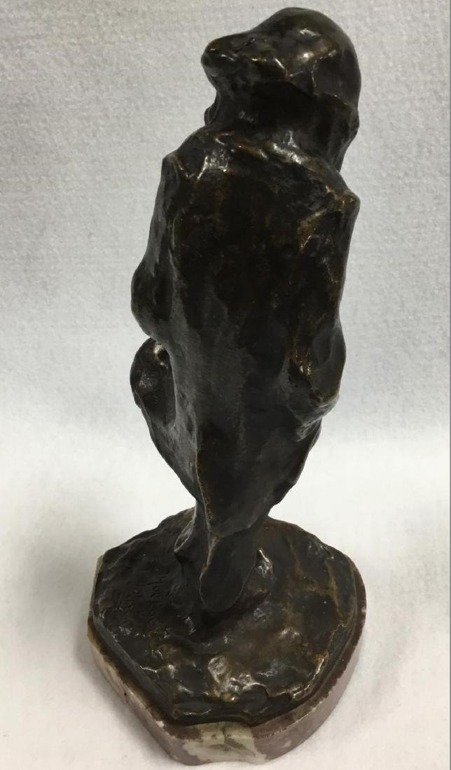 Early 20 th  Century Parisian Bronze Sculpture, Signed - 2