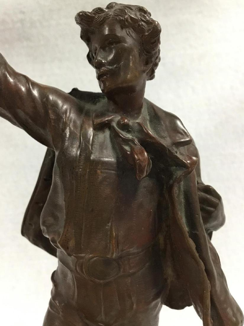 19 th /20 th  Bronze Sculpture, Unsigned. - 2