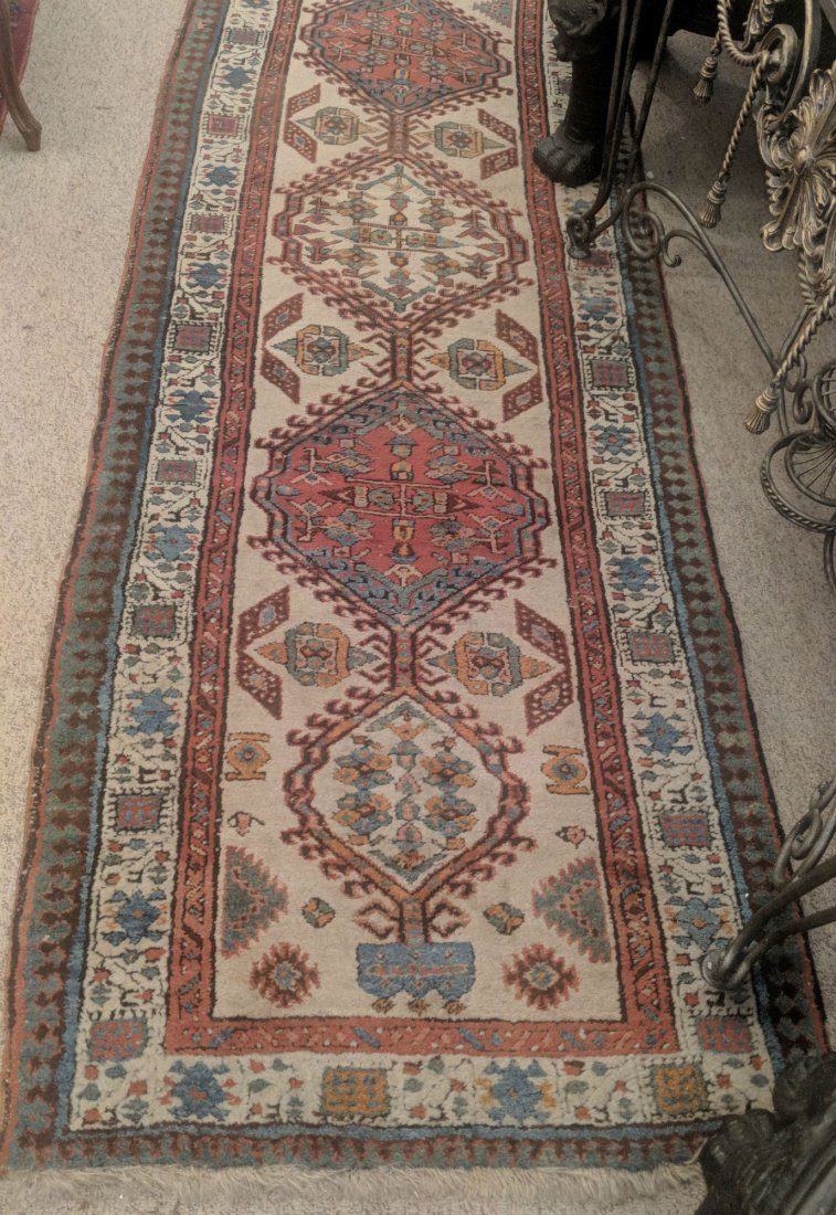 Antique Caucasian Kazak Runner